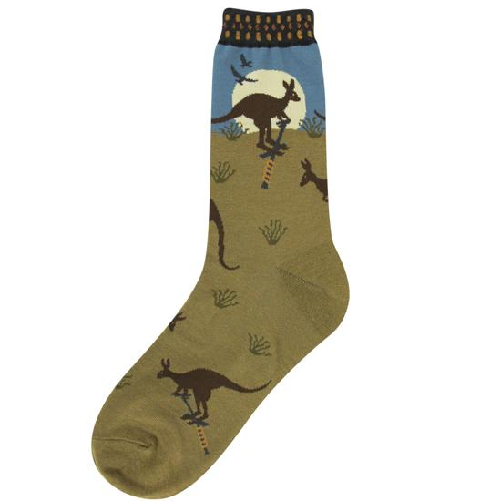 Kangaroo Socks Women's Crew Sock