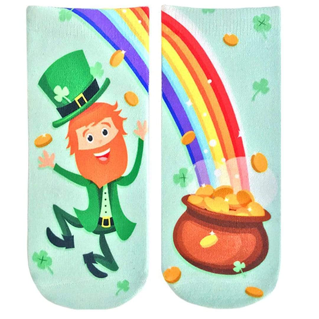 Leprechaun Ankle Sock Green