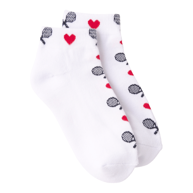 Love Tennis Socks - Women's Ankle Sock