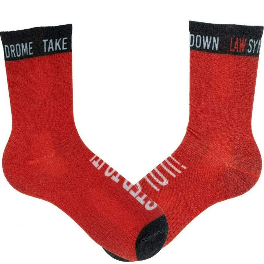 Law Syndrome Socks Unisex Crew Sock