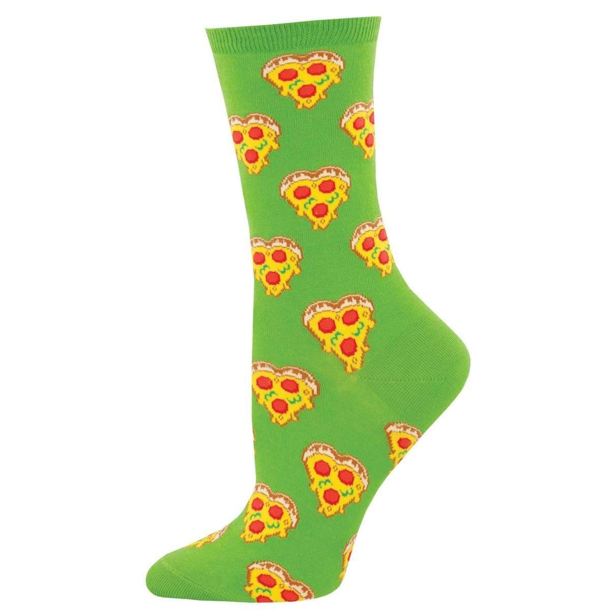 Love You To Pizzas Women's Crew Sock