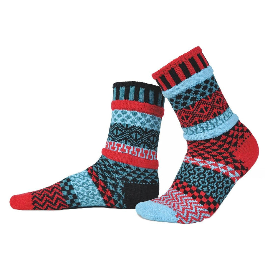 Mars Cotton Crew Socks