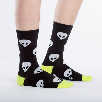 Alien Socks side