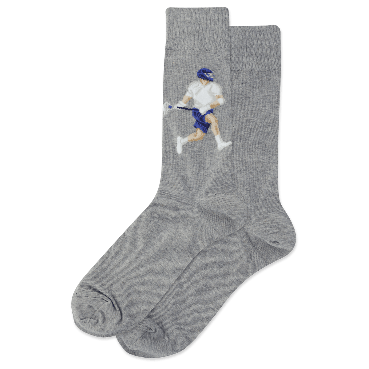 Lacrosse Player Socks Men's Crew Sock