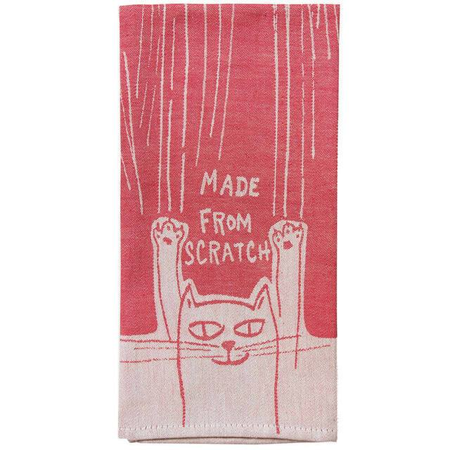Made From Scratch Dish Towel Red