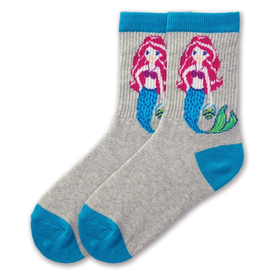 Mermaid Socks - Crew for Children