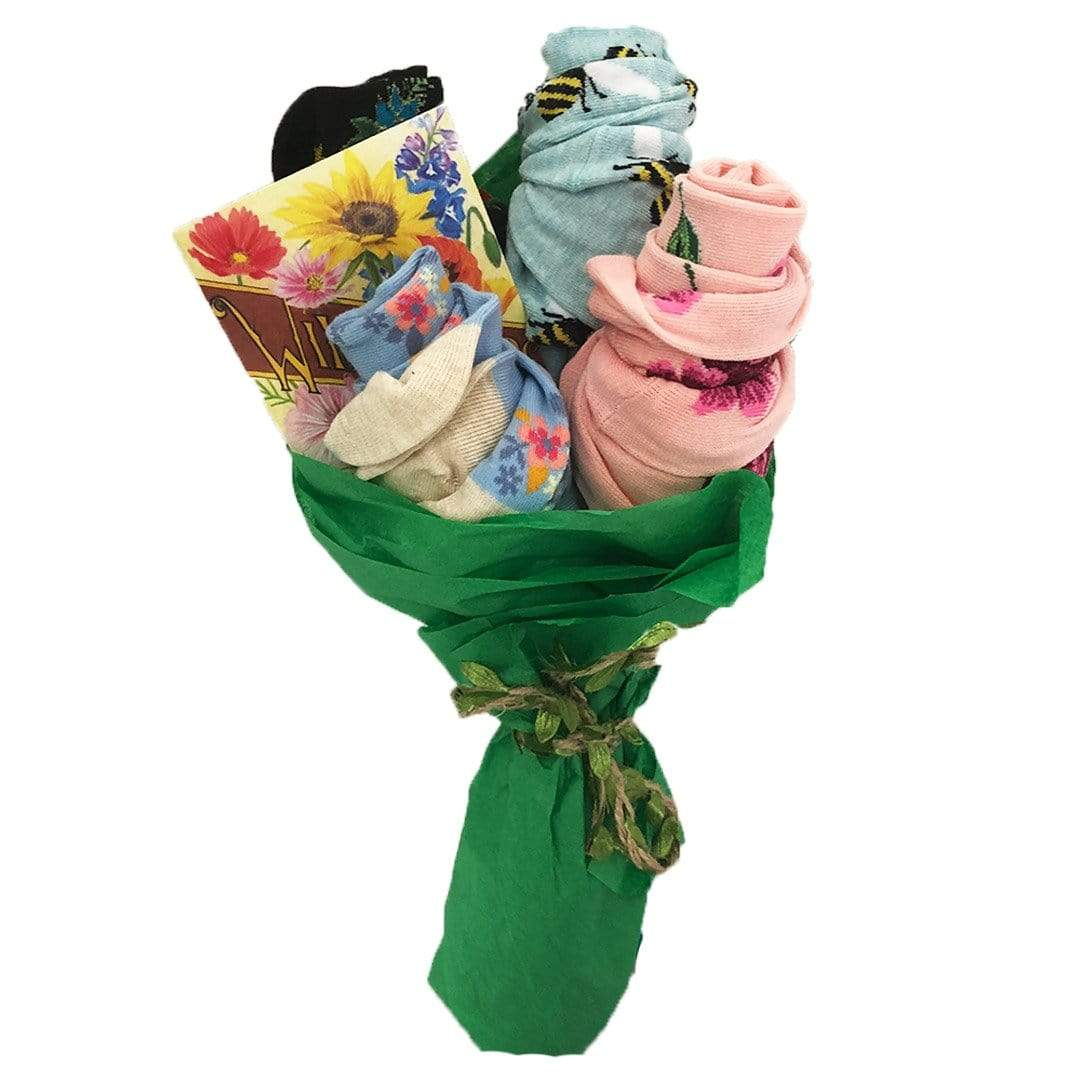 Mother's Day Bouquet of Socks Multi