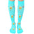 Nurse Unisex Compression Knee High Sock Aqua