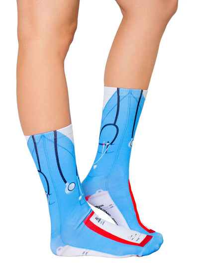 Nurse Crew Socks - side