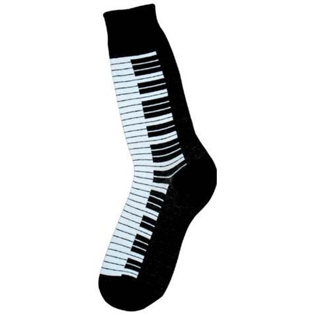Piano Socks - Crew Socks for Men