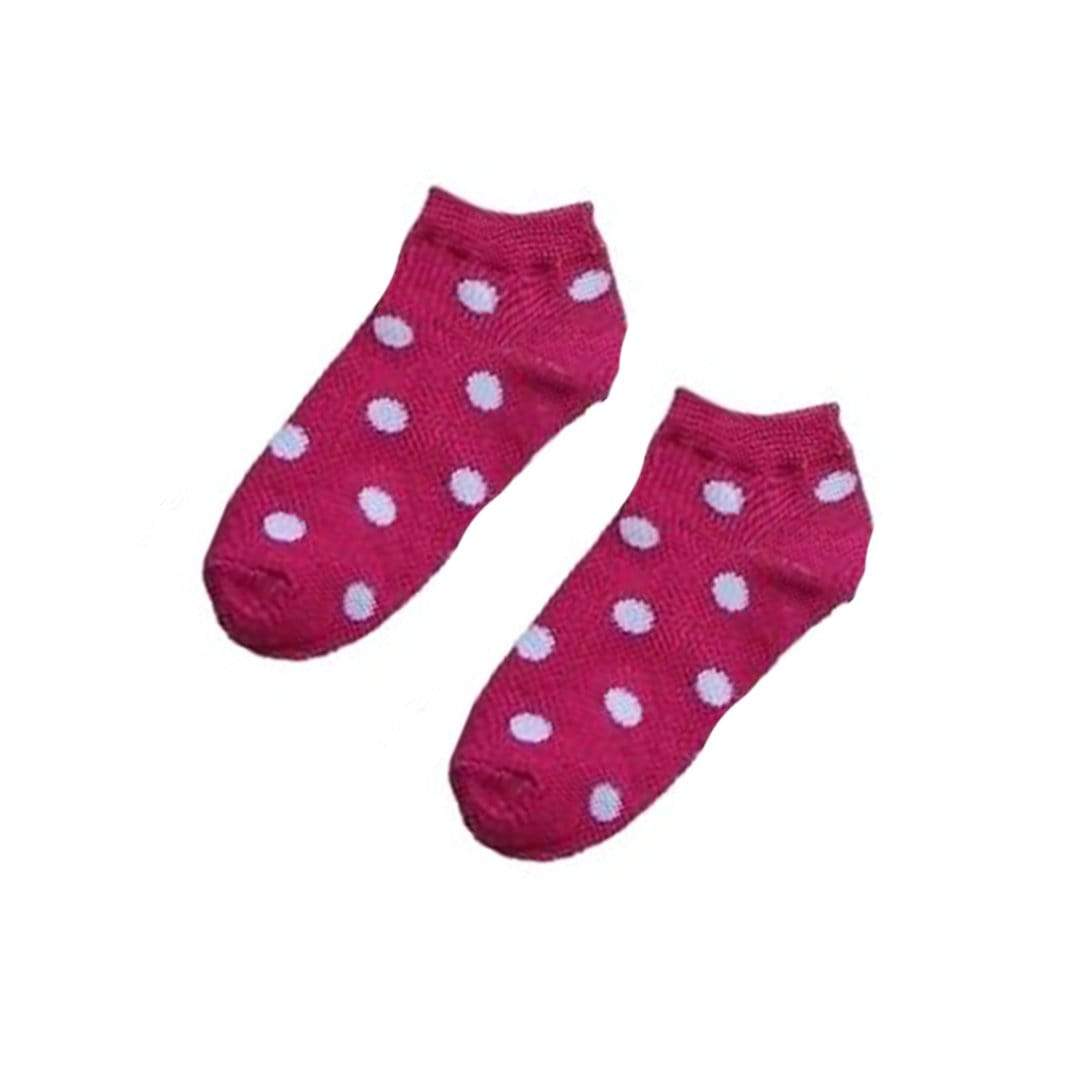 POLKA DOT ANKLE SOCKS - WOMEN'S ANKLE SOCK