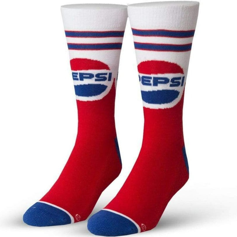 Pepsi Throwback Men's Crew Sock Red
