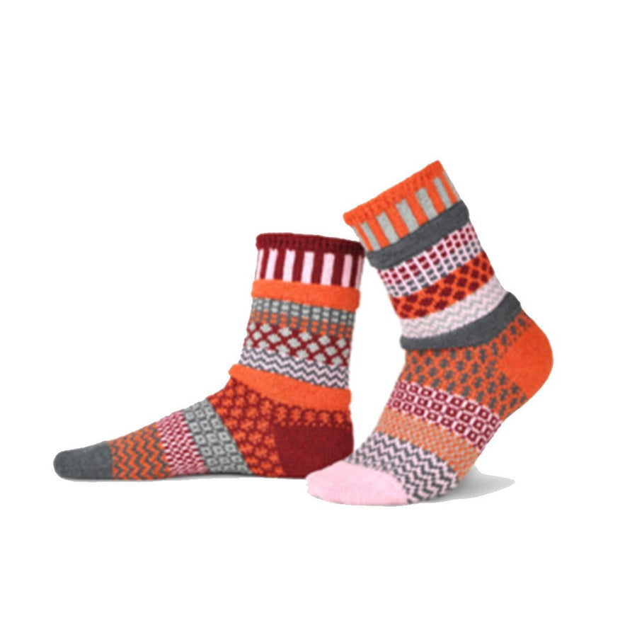 Persimmon Cotton Crew Socks