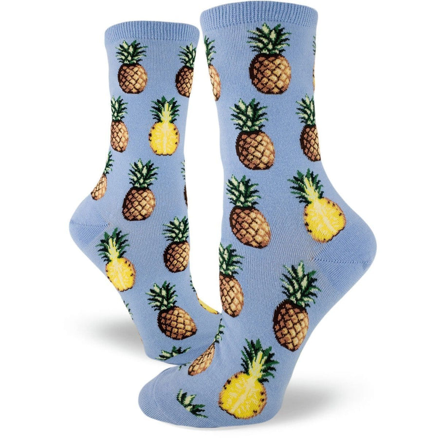 Pursuit of Pineapples – Crew Socks for Women