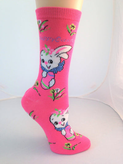 Happy Easter Socks -- Right