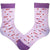 Down Syndrome Awareness Light Pink Unisex Crew Socks Light Pink