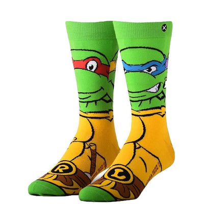 RETRO NINJA TURTLES SOCK - Crew Socks
