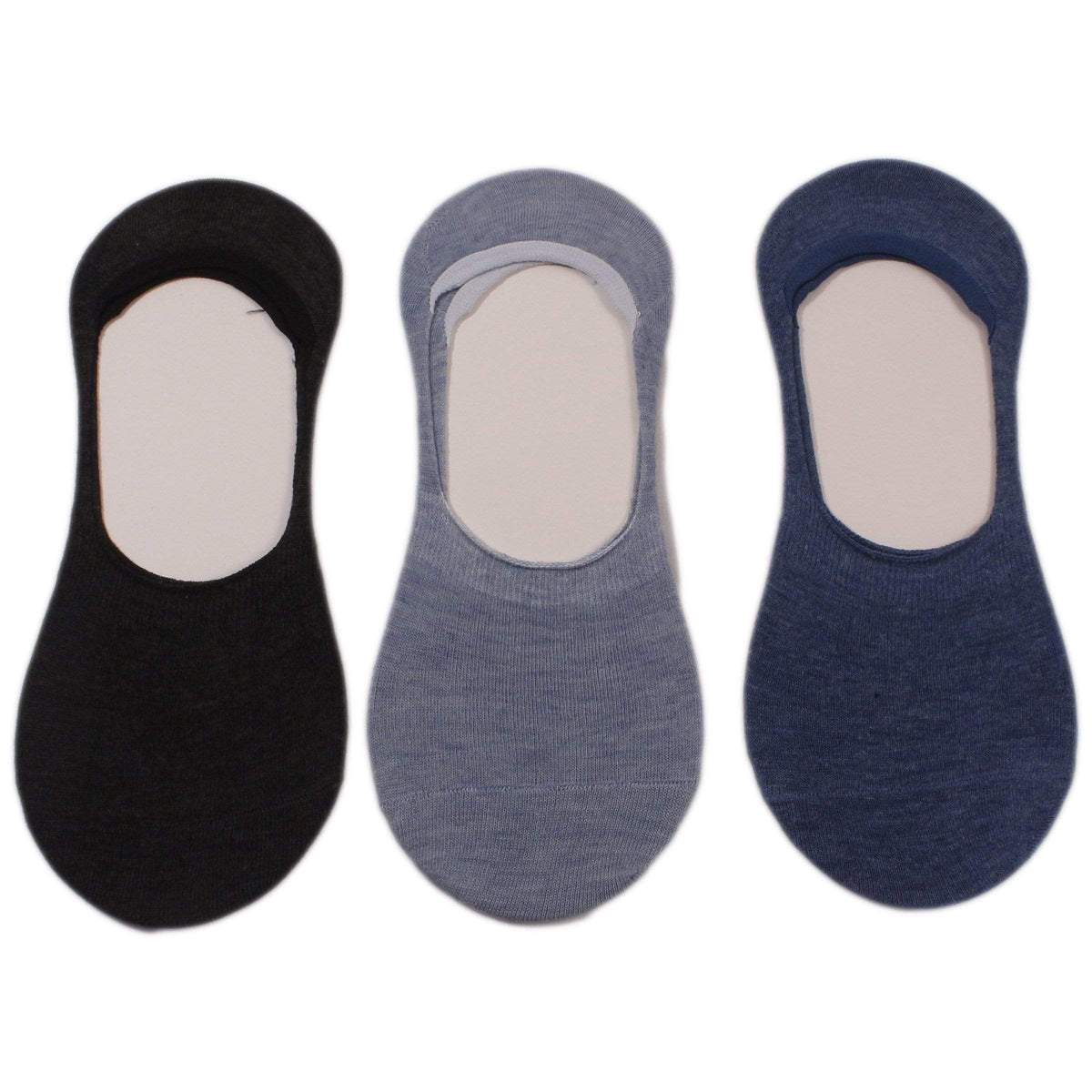 Solids 3 Pack Liner Socks