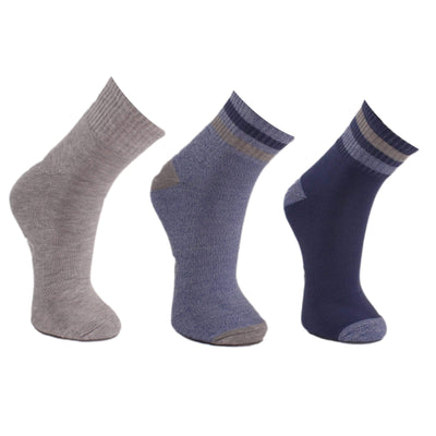 Men's 3 Pack Quarter Socks