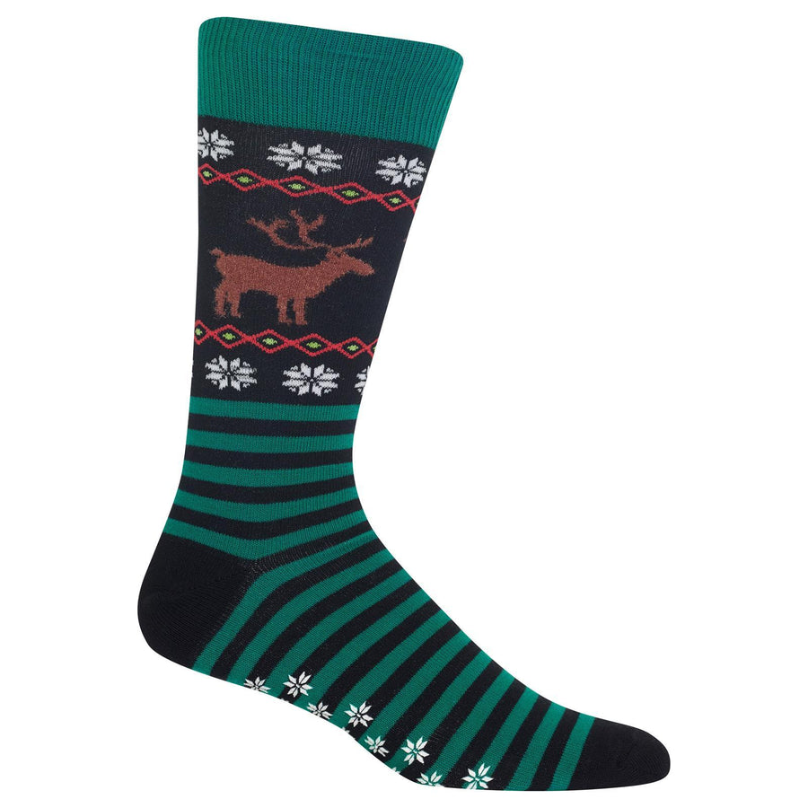 Reindeer Socks - Red