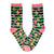 Retro Holiday Christmas Crew Tree Socks