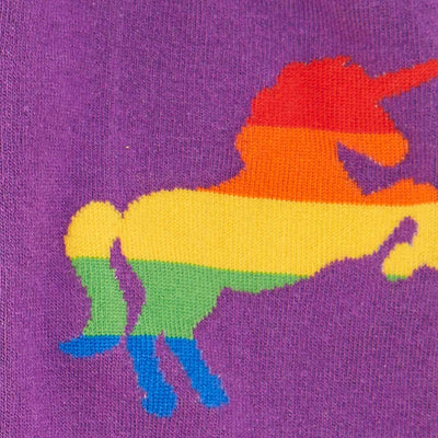 Pride and Fabulous Socks -- Rainbow Unicorn