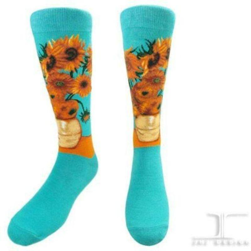 12-sunflowers-socks-crew-socks-for-women