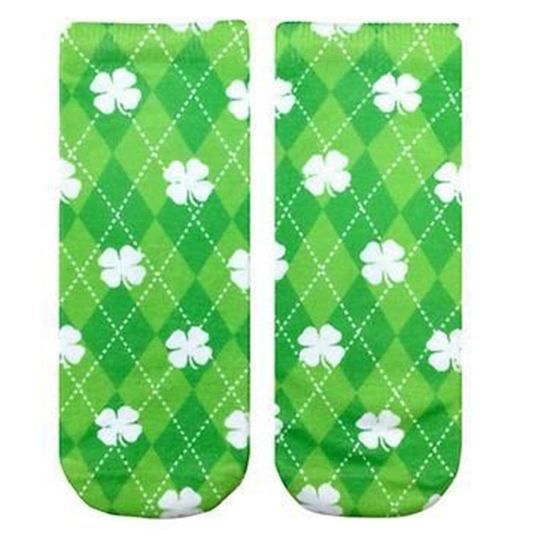 Shamrock Socks - Ankle Sock Green