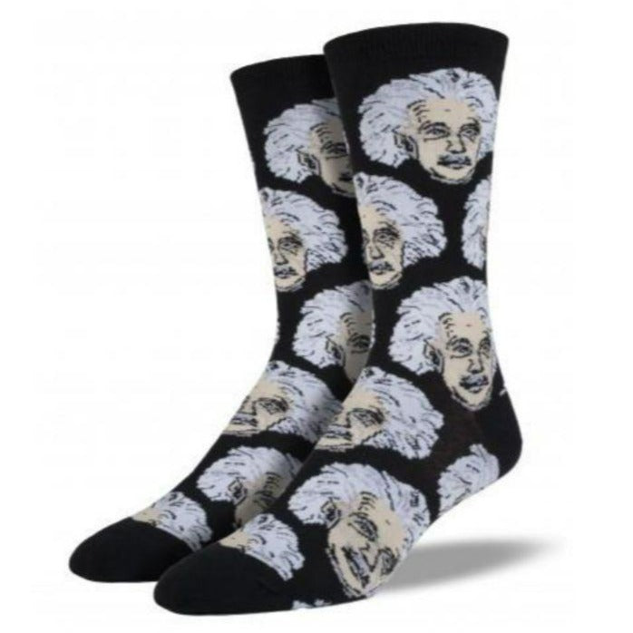 Einstein Socks Men's Crew Sock black