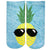 Sunglasses Pineapple Socks Ankle Sock