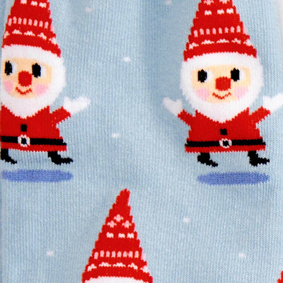 Santa Gnome Socks -- Decal
