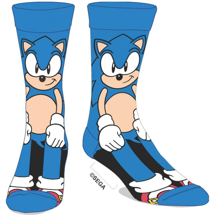 Sonic The Hedgehog Crew Socks for Men