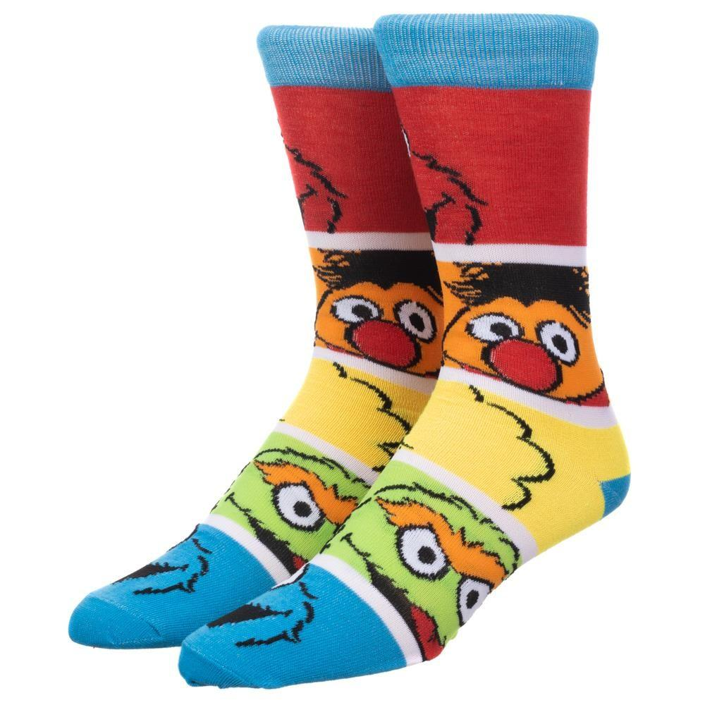 Sesame Street Friends Crew Sock