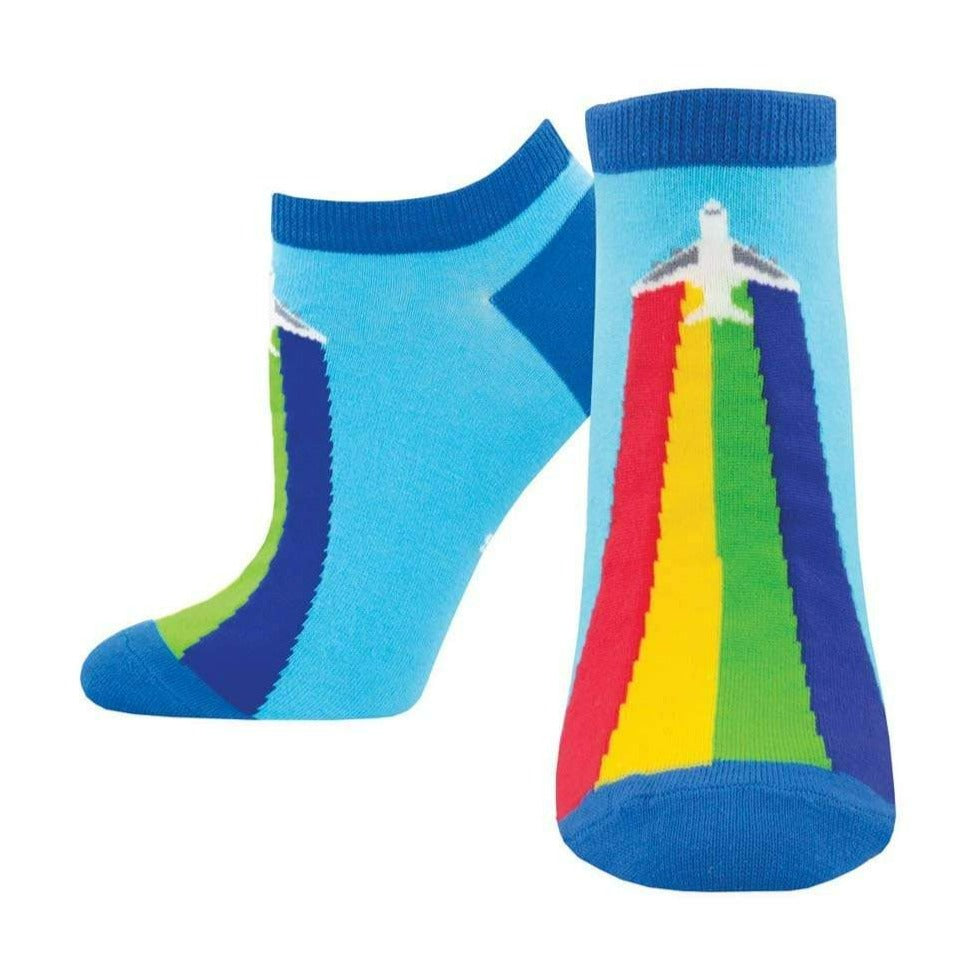 Show Your True Colors Socks Women's No Show Sock