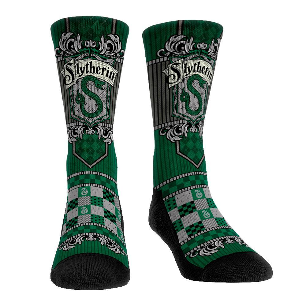 Slytherin Regal Banner Crew Sock