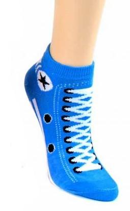 Sneaker Style Socks Women's Ankle Socks Dark Blue