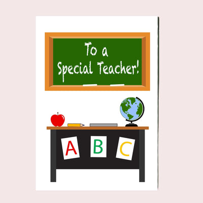 Special Teacher Greeting Card