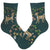 Spring Awakening Women's Crew Sock Green