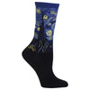 Starry Night Socks-Blue