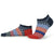 Stars and Stripes Ankle Socks Red / Blue / Small