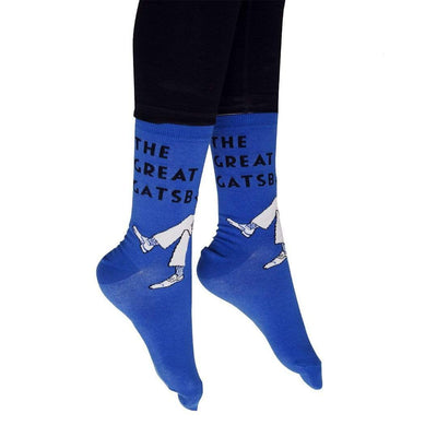 The Great Gatsby Socks - Crew Socks