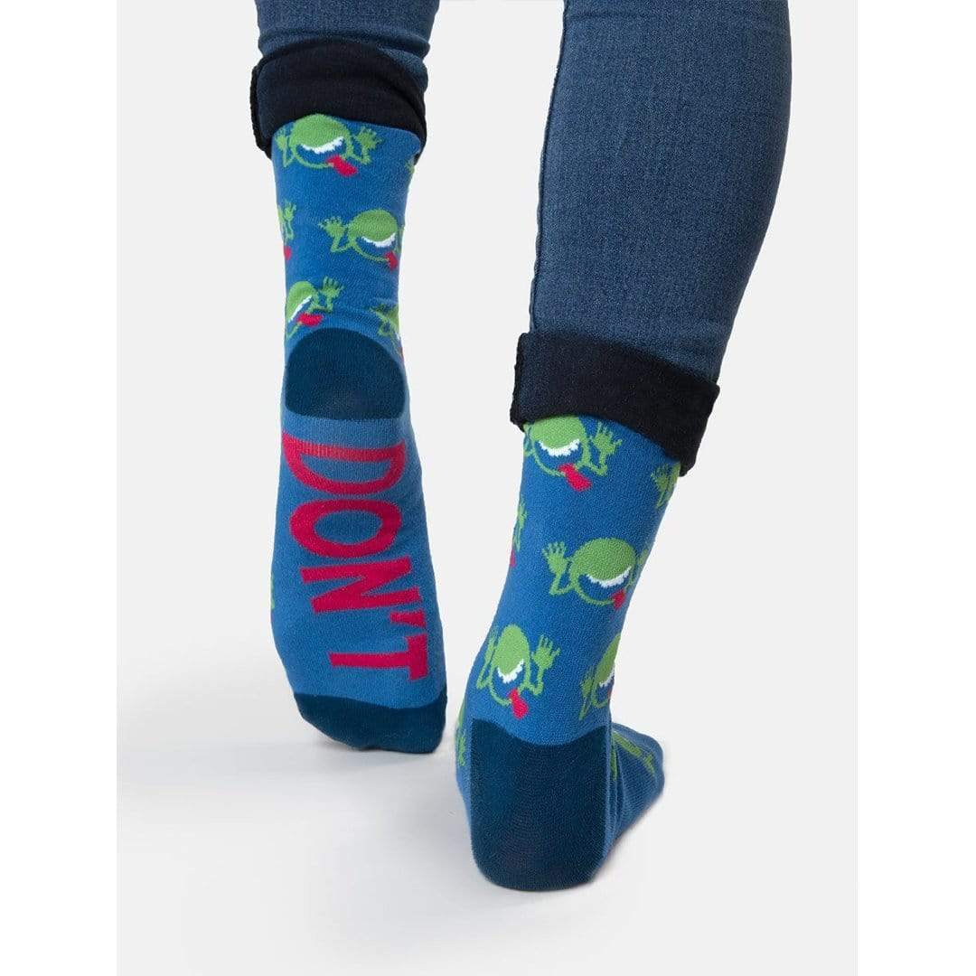 e2d768047f323 The Hitchhiker's Guide To The Galaxy Socks - Crew Socks