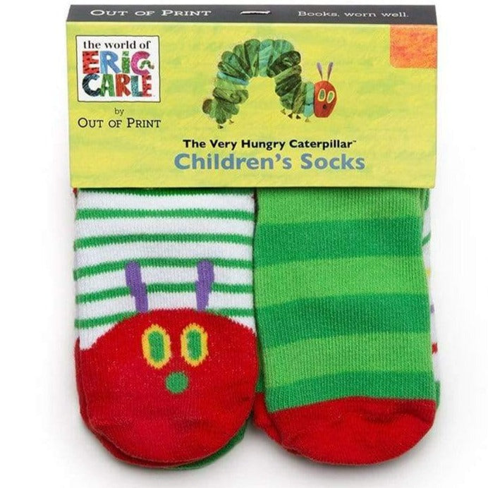 the very hungry caterpillar toddler collection socks 4 pack