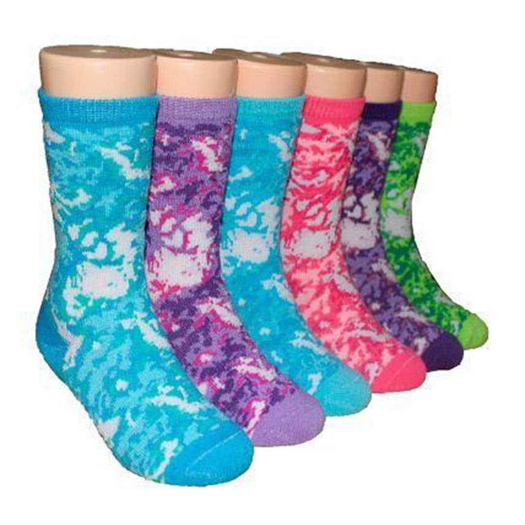 Tie Dye Socks for Toddlers Ages 1–2 - 3-Pack Multi