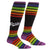 Team Pride Socks Stretch Women's Knee High Sock Black