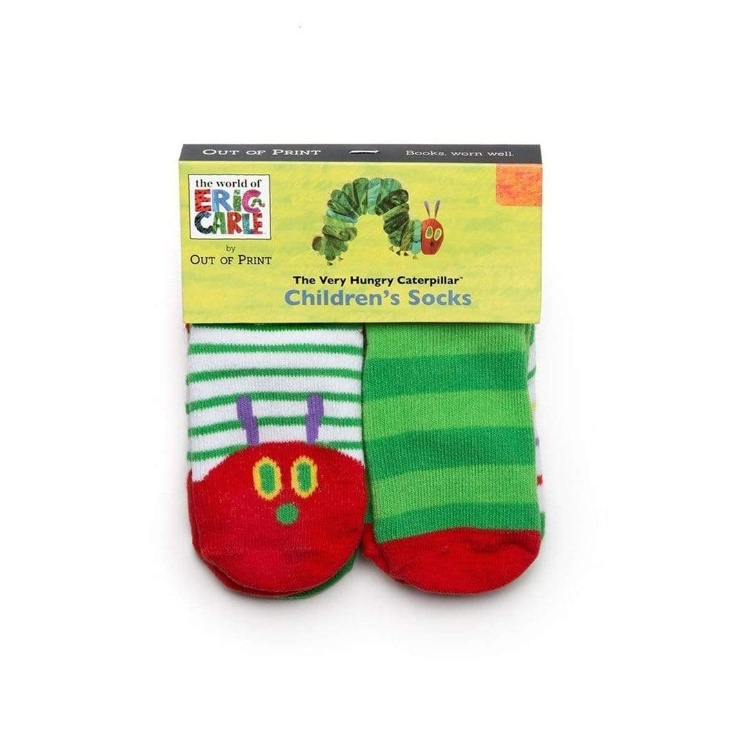 The Very Hungry Caterpillar Socks - Socks for Children Ages Two to Three