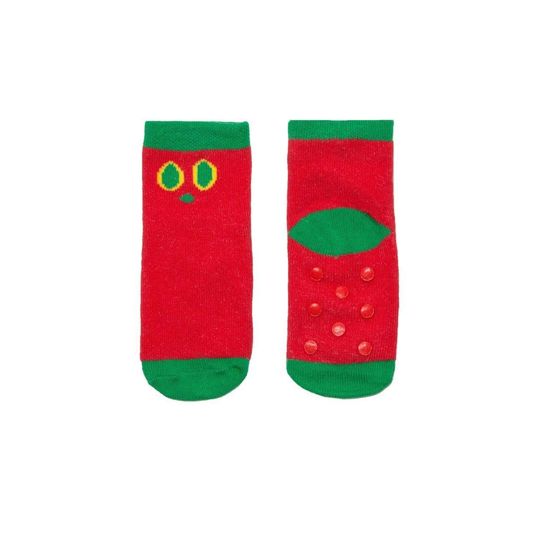 The Very Hungry Caterpillar Socks Children's Sock 12-24 months green