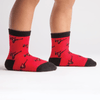 Red Ninja Toddler's Socks