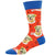 Science Lab Men's Crew Sock Orange