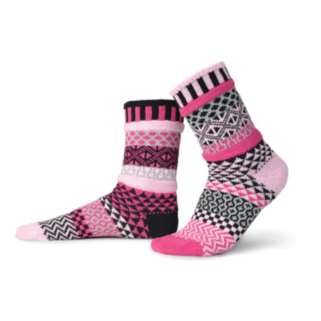 Venus Cotton Crew Socks Small / Pink